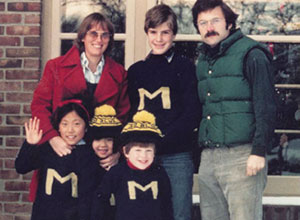 The McClatchey Family (clockwise from top left): Marty, Sean, Kenneth, Stephen, Suni and Suki