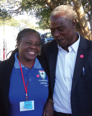 A clergy couple participates in an AMEC conference where they were among the 147 leaders screened for HIV in one day.