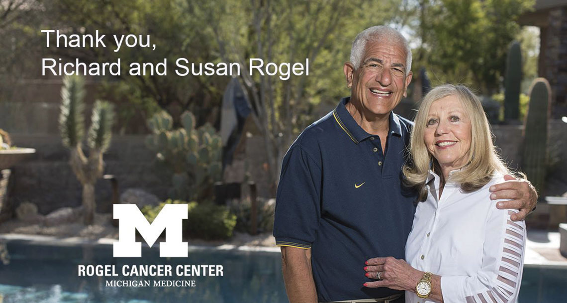 Richard and Susan Rogel