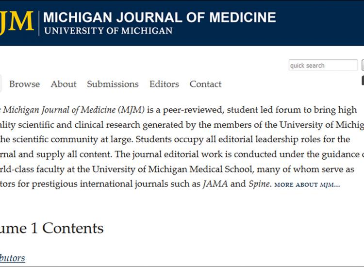 Michigan Journal of Medicine