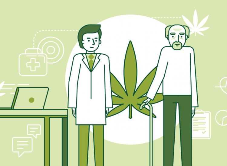 How do older adults feel about medical marijuana?